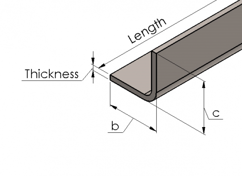 Cold Formed Angle Section